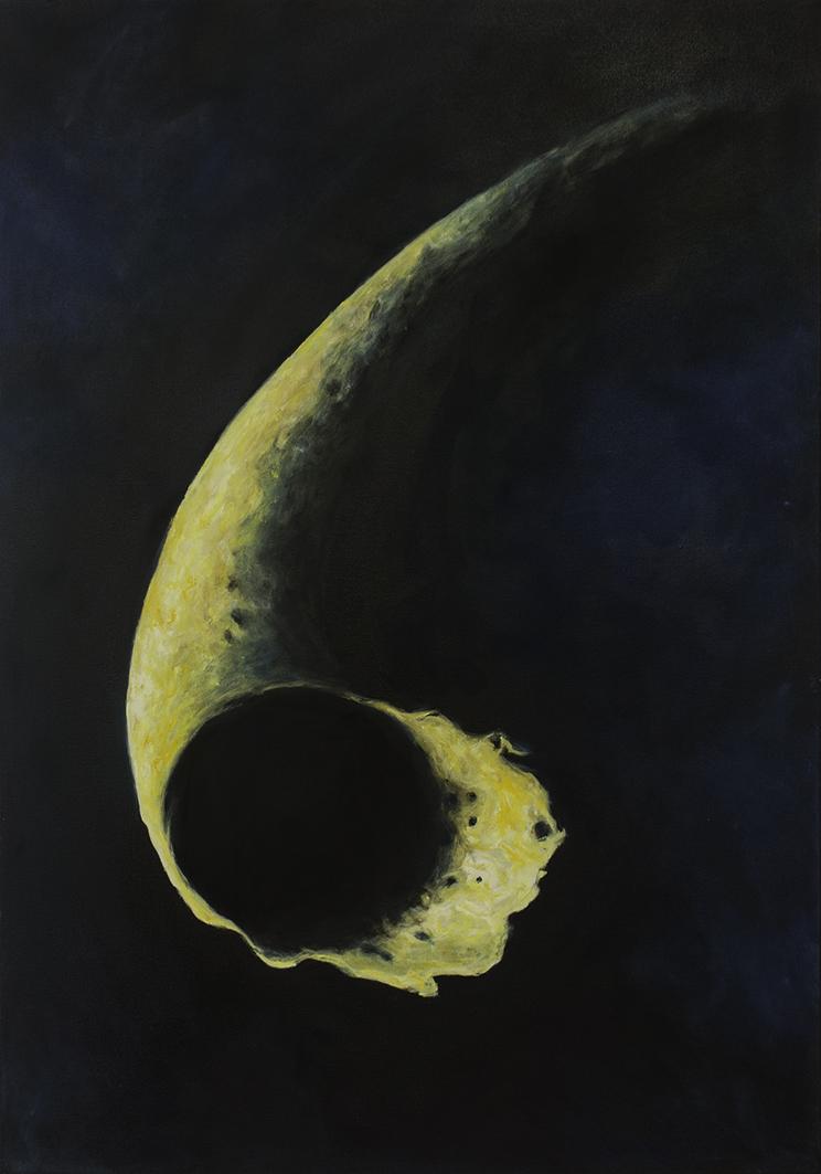 Tyhjyydensarvi, 2020, öljyväri kankaalle, 70x100 cm